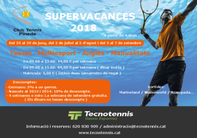 Supervacances 2018 C.T. Pineda